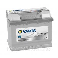 Аккумулятор   63Ah-12v VARTA SD(D15) (242x175x190),R,EN610