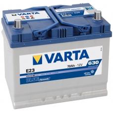 Аккумулятор   70Ah-12v VARTA BD(E23) (261х175х220),R,EN630