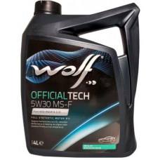 WOLF OFFICIALTECH 5W30 MS-F 4л