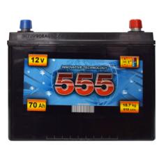 Аккумулятор   70Ah-12v 555 (254x170x219),R,EN610 Азия