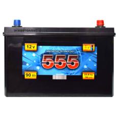 Аккумулятор   90Ah-12v 555 (303x171x222),L,EN700 Азия
