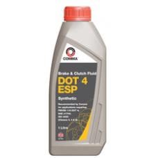 Жидкость торм. DOT-4 COMMA 1л