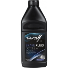 WOLF BRAKE FLUID DOT 3&4 500ML