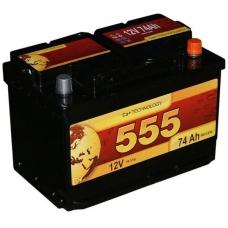 Аккумулятор   60Ah-12v 555 (243x175x190),L,EN540