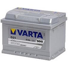 Аккумулятор   61Ah-12v VARTA SD(D21) (242x175x175),R,EN600