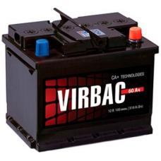Аккумулятор   60Ah-12v VIRBAC CLASSIC (243x175x190),R,EN480
