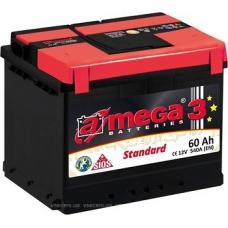Аккумулятор   60Ah-12v AMEGA Standard  (243x175x190),R,EN540