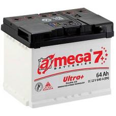 Аккумулятор   64Ah-12v A-MEGA Ultra+ (243x175x190),R,EN640