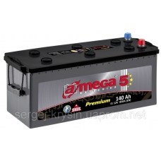 Аккумулятор   140Ah-24v AMEGA PREMIUM (513x189x223),L,EN850