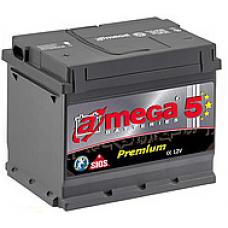 Аккумулятор  45Ah-12v AMEGA PREMIUM (207x175x190),L,EN450