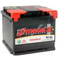 Аккумулятор   44Ah-12v AMEGA Standard (207x175x190),R,EN390