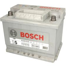 Аккумулятор   63Ah-12v BOSCH (S5006) (242x175x190),L,EN610