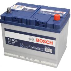 Аккумулятор   70Ah-12v BOSCH (S4026) (261x175x220),R,EN630(Азия)