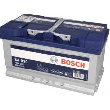 Аккумулятор   80Ah-12v BOSCH (S4010) (315x175x175),R,EN740
