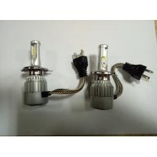 Лампа светодиодная H4 LED 6500K(комплект 2шт.,)