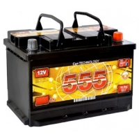 Аккумулятор   100Ah-12v 555 (352x175x190),L,EN850