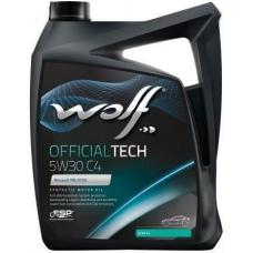 WOLF OFFICIALTECH 5W30 C4 5л