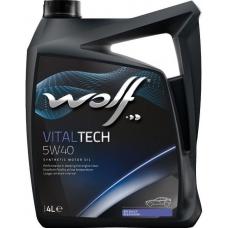 WOLF VITALTECH  5W40 4л