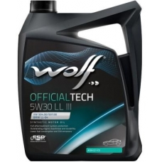 WOLF OFFICIALTECH 5W30 LL III 4л
