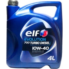 ELF EVOLUTION 700 TURBO DIESEL 10W40 4л