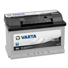 Аккумулятор   70Ah-12v VARTA BLD(E9) (278x175x175),R,EN640