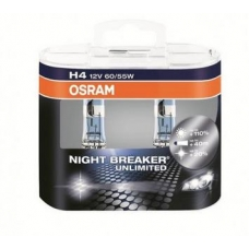 Лампа H4 Night Breaker Unlimited 2шт
