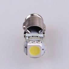 Лампа LED  габарит, посветка панели приборов BA7s 1SMD   12V WHITE<TEMPEST>