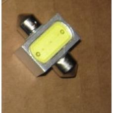 Лампа LED софитная C5W 12V  T11x31-S8.5  1SMDx3chips Mega-LED WHITE