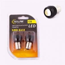 Лампа LED задний ход(линза)  1SMD BA15s 12V WHITE <TEMPEST>