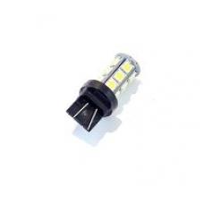 Лампа LED б/ц  двухконтактная  габарит, стоп T20 -7440 (4SMD) Mega-LED W3x16q 12V WHITE <TEMPEST>