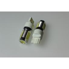 Лампа LED б/ц габарит, стоп T20 -7440 (4SMD) Mega-LED W3x16d 12V WHITE <TEMPEST>