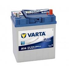 Аккумулятор   40Ah-12v VARTA BD(A14) (187х127х227),R,EN330 (1-й сорт)