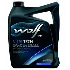 WOLF VITALTECH 5W40 B4 DIESEL 4л