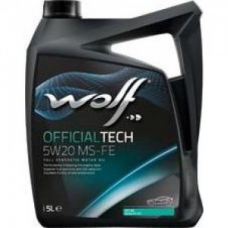 WOLF OFFICIALTECH 5W20 MS-FE 5л